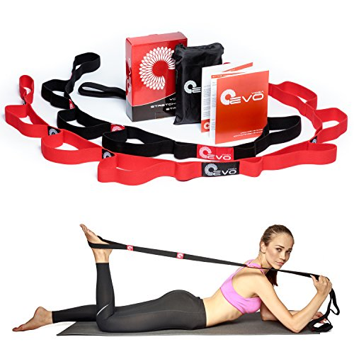 Yoga EVO Elastic Stretching Strap Kit