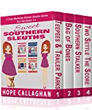 Sweet Southern Sleuths Cozy Mysteries Short Stories: Box Set I: (Books 1-4)