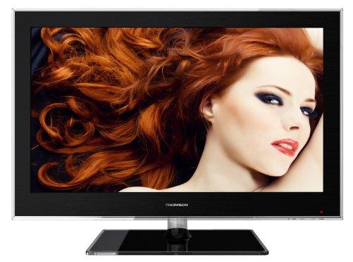 Thomson 26HS4246C 66 cm (26 Zoll) LED-Backlight-Fernseher, Energieeffizienzklasse B (HD-Ready, DVB-C/-T, 2x HDMI, CI+, USB 2.0, Hotelmodus) schwarz