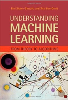 Livres Couvertures de Understanding Machine Learning: From Theory To Algorithms