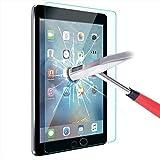 ELTD iPad Pro 9.7 Displayschutz, Glas Folie Schutzfolie Glas Panzerfolie Displayschutzfolie für iPad Pro 9.7 Klar Anti-Kratz Screen Protector Displayschutz - 9H Hardness aus
