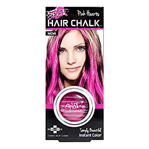 splat hair chalk pink hearts health personal care