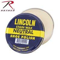 Lincoln Shoe Wax Polish 3 Fl Oz (Neutral)