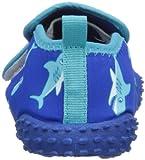 Playshoes Aquaschuhe, Badeschuhe Hai mit höchstem UV-Schutz nach Standard 801 174773, Jungen Dusch- & Badeschuhe, Blau (original 900), EU 20/21 -