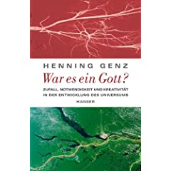 Buchcover - War es ein Gott?