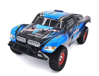 KELIWOW-112-Scale-Off-road-Electric-RC-Car-24Ghz-4WD-High-Speed-25MPH-Remote-Control-Car-RTRBlue