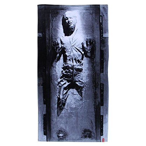 Star Wars Cotton Han Solo in Carbonite Beach Towel