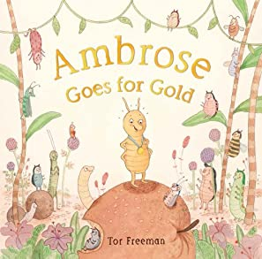 "Cover of ""Ambrose Goes for Gold"""