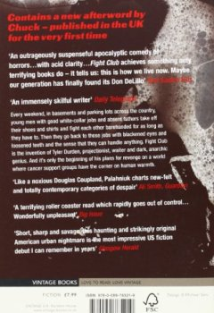 Livres Couvertures de Fight Club (ANGLAIS)