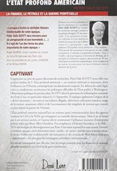 Livres Couvertures de ÉTAT PROFOND AMÉRICAIN (L') : La finance, le pétrole et la guerre perpétuelle