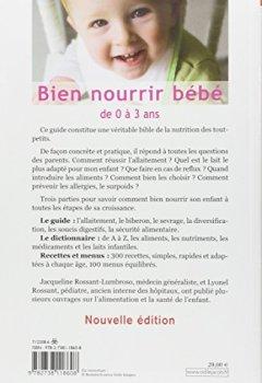 Livres Couvertures de Bien nourrir son bébé: De 0 à 3 ans