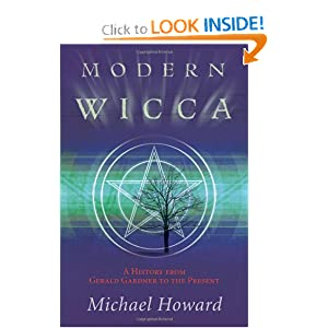 The cover of Modern Wicca by Michael Howard