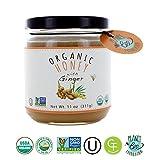 Greenbow Organic Honey with Ginger 11oz (311g) 100% USDA Organic and Non-GMO
