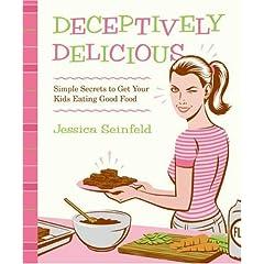 The New York Times Lista dos Livros Mais Vendidos Bestseller Books Best Seller DECEPTIVELY DELICIOUS Jessica Seinfeld Livro