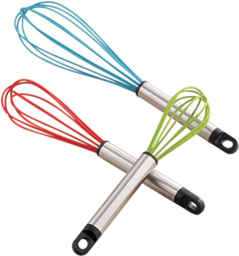 Silicone Whisk Set by Miles Kimball