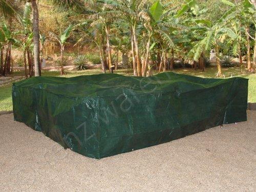 XXL Abdeckplane Schutzhülle für Gartenmöbel 3x3m