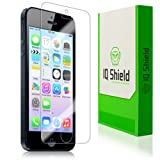 IQ Shield LIQuidSkin - Apple iPhone 5S Screen Protector with Lifetime Replacement Warranty - High Definition (HD) Ultra Clear Phone Smart Film - Premium Protective Screen Guard - Extremely Smooth / Self-Healing / Bubble-Free Shield - Kit comes in Frustration-Free Retail Packaging