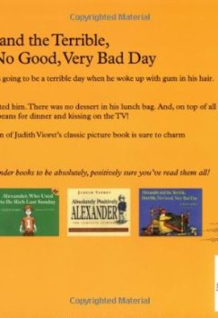 Livres Couvertures de Alexander and the Terrible, Horrible, No Good, Very Bad Day