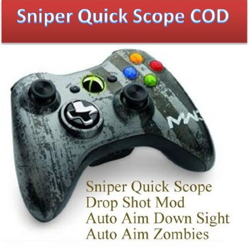 Sniper Quick Scope Mod 17 Mode Mw3 Xbox 360 Modded Rapid Fire Controller
