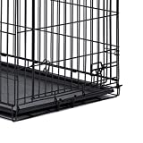 "Midwest Homes for Pets 26PAN Crates, 24"", Black"
