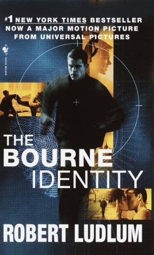 Cover of the book, The Bourne Identity by Robert Ludlum.