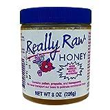 Really Raw Honey - Raw Honey, 8 Ounce -- 6 per case