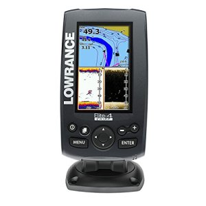 Lowrance 000-11808-001 Elite-4 Fishfinder/Chartplotter with US Basemap, 83/200KHz CHIRP and 455/800KHz DownScan Transducer review