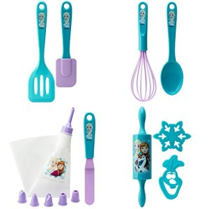 Zak-Designs-Disney-Frozen-15-Piece-Baking-Set-For-Kids-Decorated