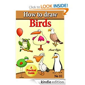 how to draw cartoon birds characters step by step (how to draw comics and cartoon characters)