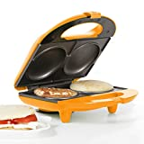 Holstein FUN HF-09002O 2-in-1 Multi-Maker, Orange