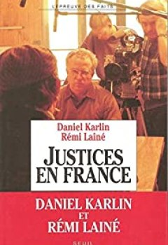 Livres Couvertures de Justices En France