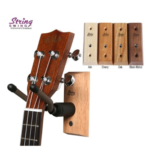 String-Swing-CC01UK-Ukulele-Mandolin-Hardwood-Wall-Hanger-for-Home-Studio