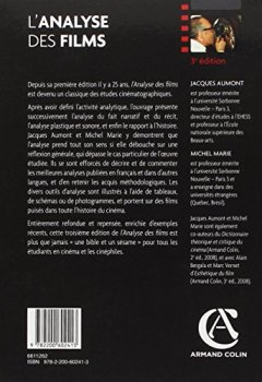 Livres Couvertures de L'analyse des films - 3e édition