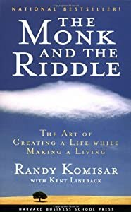 "Cover of ""The Monk and the Riddle: The Ar..."