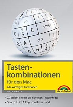 Buchdeckel von Tastenkombinationen für den Mac: Alle wichtigen Funktionen