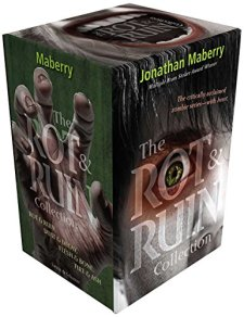 The Rot & Ruin Collection: Rot & Ruin; Dust & Decay; Flesh & Bone; Fire & Ash by Jonathan Maberry| wearewordnerds.com