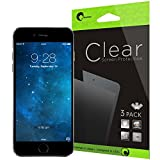 iPhone 6 Screen Protector- i-Blason Apple iPhone 6 4.7 Screen Protector - 3 Pack Premium HD Clear Version for iPhone 6 Air