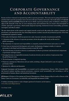 Livres Couvertures de Corporate Governance and Accountability
