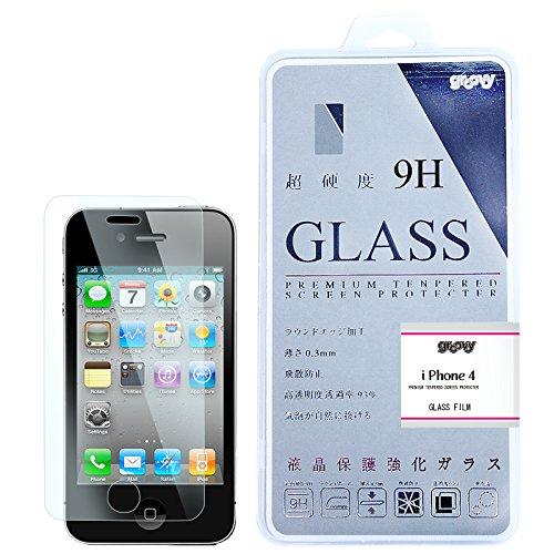 iphone4/4s 強化ガラス 液晶保護フィルム ガラスフィルム