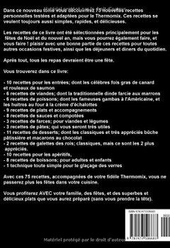 75 Recettes Thermomix Faciles Et Rapides Pour Noel De L Aperitif