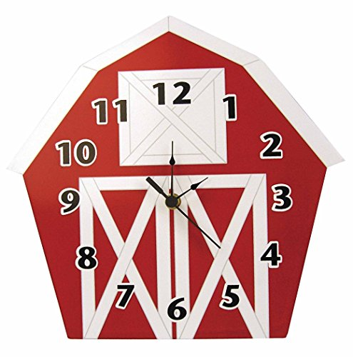 Trend Lab Baby Barnyard Wall Clock, Barn