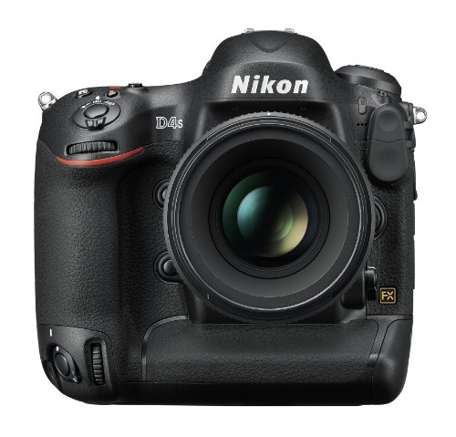 Nikon D4S 16.2 MP CMOS FX Digital SLR Camera (Body Only)