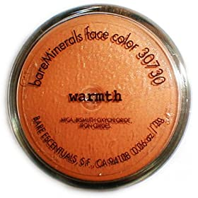 Bare Escentuals Mineral Makeup Cosmetics Warmth 2 Gram NEW