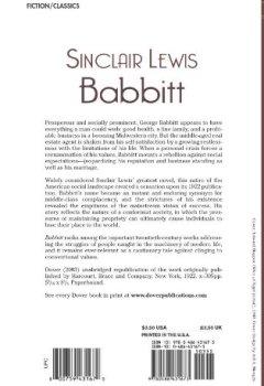 Livres Couvertures de Babbitt