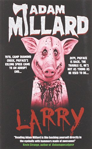Cover Art Larry by Adam Millard