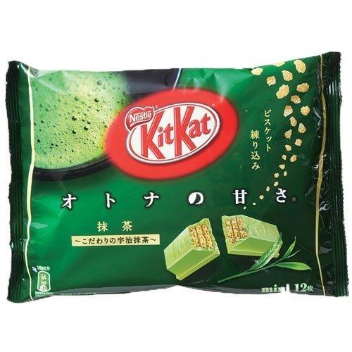 ネスレ キットカット Kitkat ミニ オトナの甘さ 抹茶 12枚