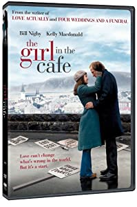 "Cover of ""The Girl in the Cafe"""