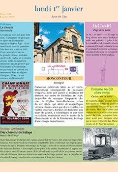 Livres Couvertures de L'Almanach des régions 2018