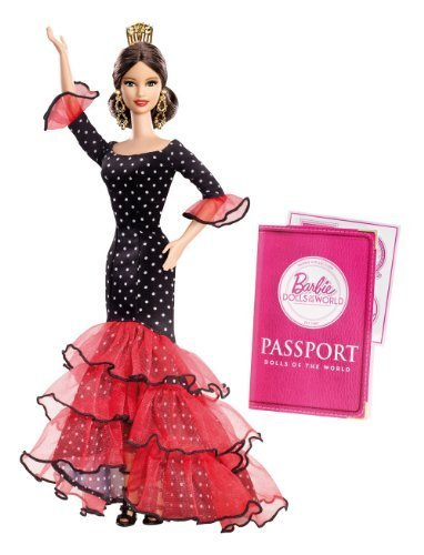 Barbie Collector Dolls of The World-Spain Doll