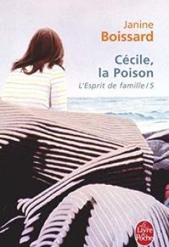 Livres Couvertures de L'Esprit De Famille, Tome 5 : Cécile, La Poison